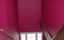 Peinture murale dans cage escalier
