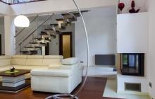 Peinture et parquet dans salon & mezzanine